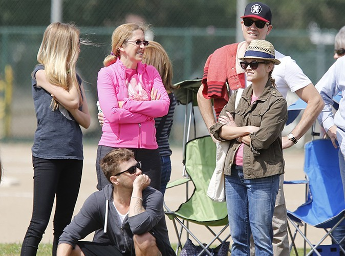 Reese Witherspoon, Ryan Philippe, Jim Toth et Paulina Slagter à Brentwood le 18 mai 2013