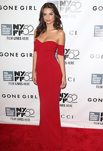 Emily Ratajkowski à New York le 26 septembre 2014