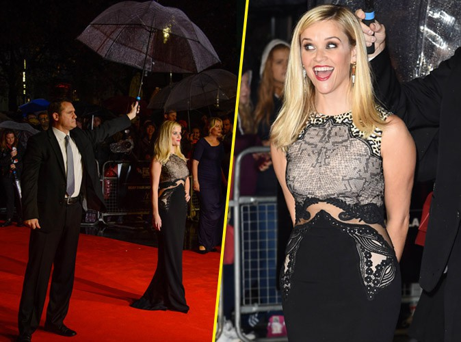 Reese Witherspoon : la pluie, �a la rend happy !