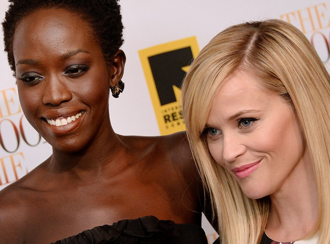 Kuoth Wiel et Reese Witherspoon à Washington le 17 septembre 2014