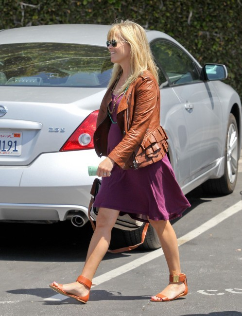 Reese Witherspoon à Los Angeles, le 10 avril 2012.
