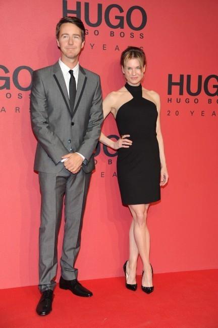 Renee Zellweger et Edward Norton le 18 janvier 2013 à Berlin