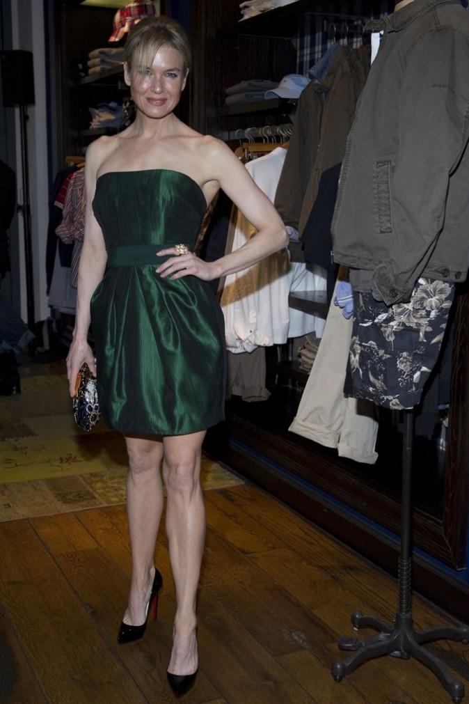 Renée Zellweger à Milan, le 6 avril 2011.