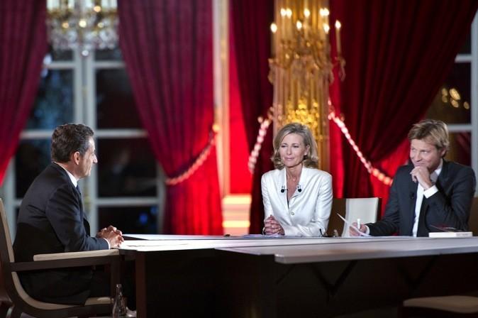Claire Chazal et Laurent Delahousse interview Nicolas Sarkozy !