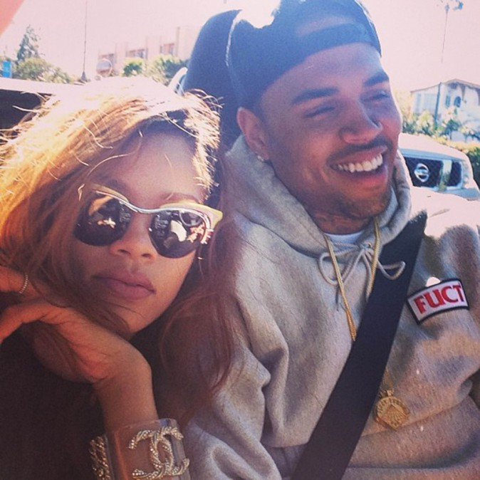 Rihanna et Chris Brown