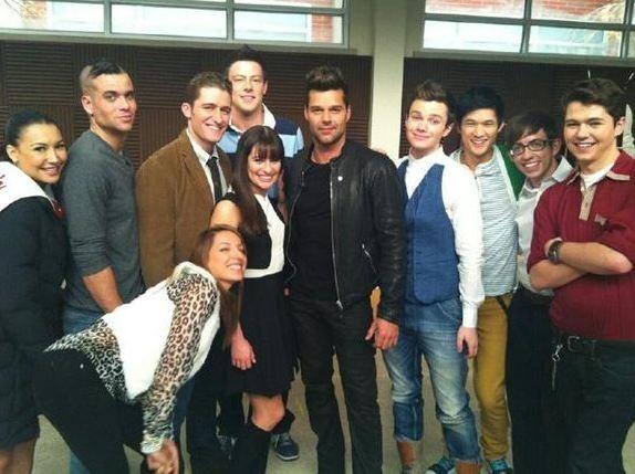 Ricky Martin et les loosers de Glee !