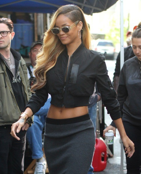 Rihanna le 15 mai 2013 à New York