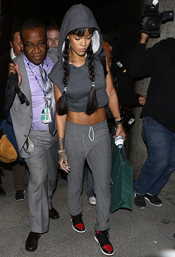 Rihanna à Los Angeles le 28 mars 2014