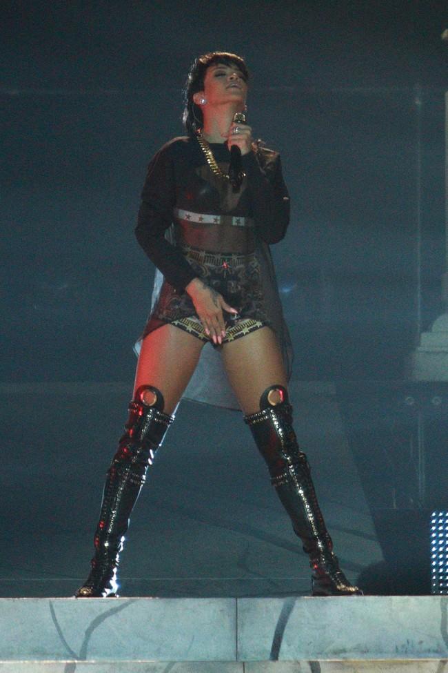 Rihanna en concert à Adelaïde le 26 septembre 2013