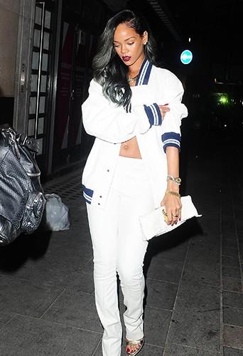 Rihanna et Cara Delevingne à Londres le 20 juillet 2013