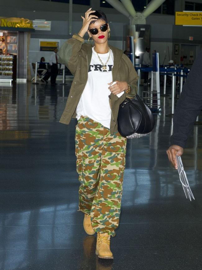 Rihanna le 1er octobre 2012 à New York