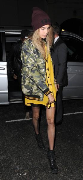 Cara Delevingne à Londres, le 10 septembre 2013.