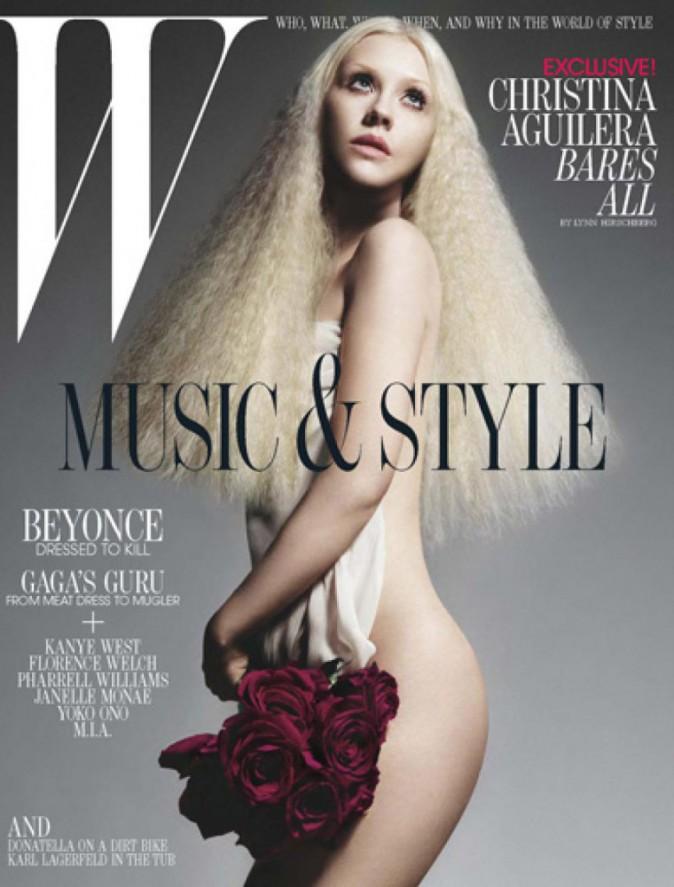 Christina Aguilera pour W