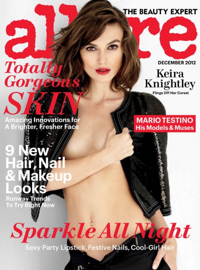 Keira Knightley pour Allure en décembre 2012