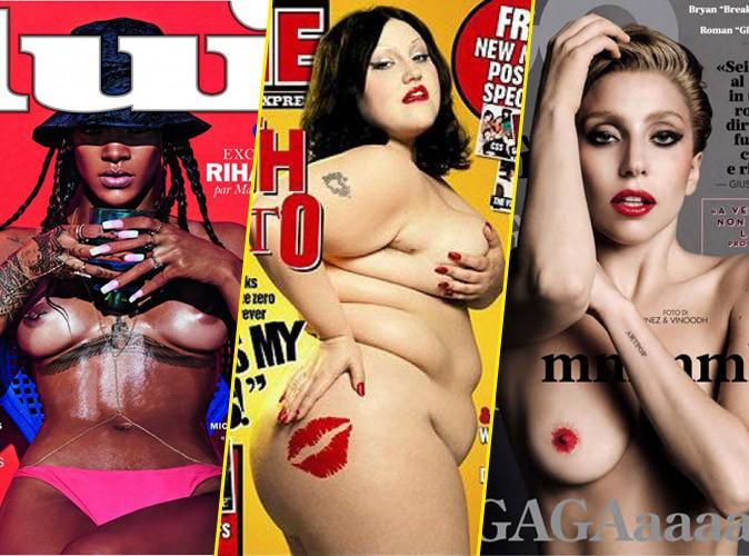 Les stars se mettent à nu pour les magazines