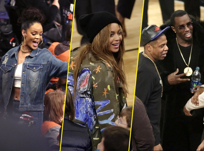 Rihanna, Beyonc�, Jay-Z, P.Diddy : rassemblement All Star � New York !