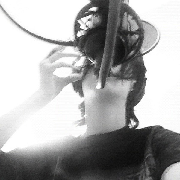 Rihanna en studio pour Unapologetic