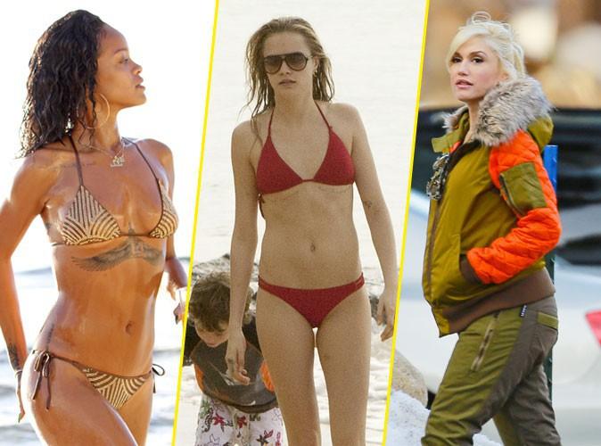 Photos : Rihanna, Cara Delevingne, Gwen Stefani : vacances à la plage ou au ski, les stars ont choisi !