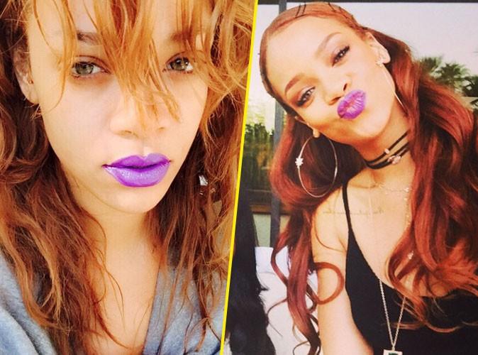 Rihanna : compl�tement fan de son roux !