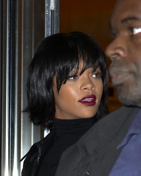 Rihanna à New York, le 18 novembre 2013.
