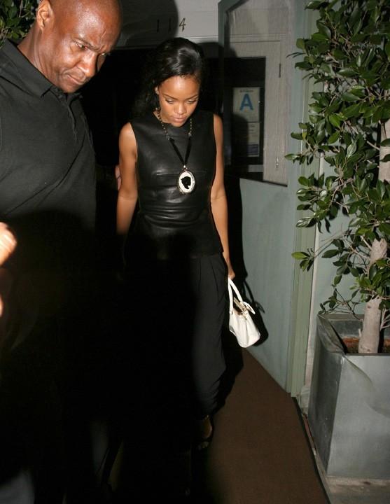 Rihanna à Santa Monica le 23 août 2012
