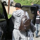 Chris Brown le 6 février 2013 à Los Angeles