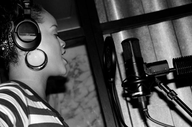 Passage en studio ...