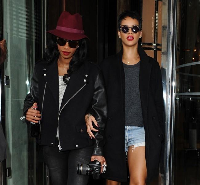 Rihanna à Londres le 25 septembre 2012