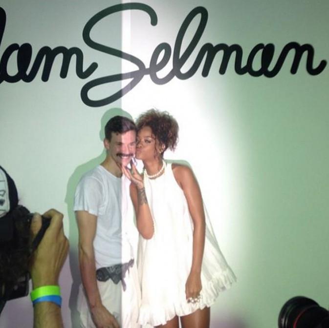 Rihanna à New-York le 5 septembre 2014
