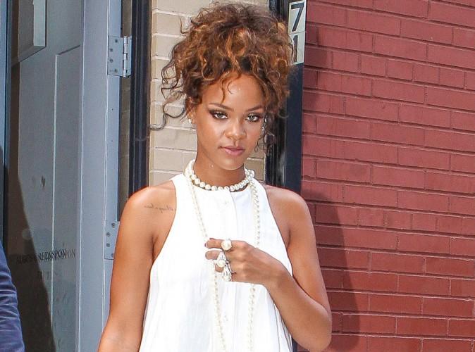 Rihanna : de retour � New-York pour soutenir son cr�ateur f�tiche � la Fashion Week !