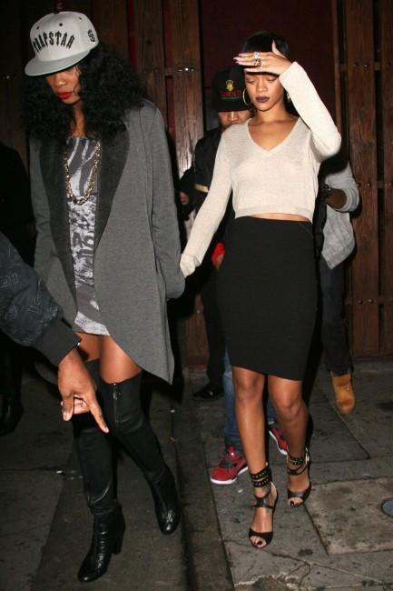 Rihanna, Los Angeles, 14 décembre 2012.
