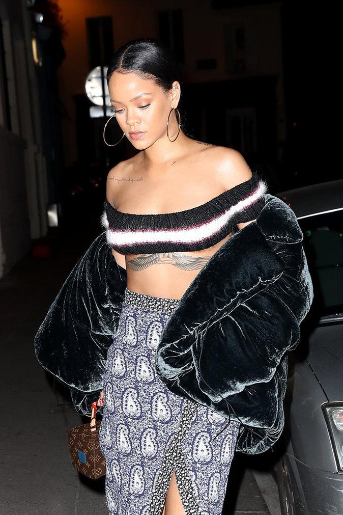 Rihanna est à Paris !