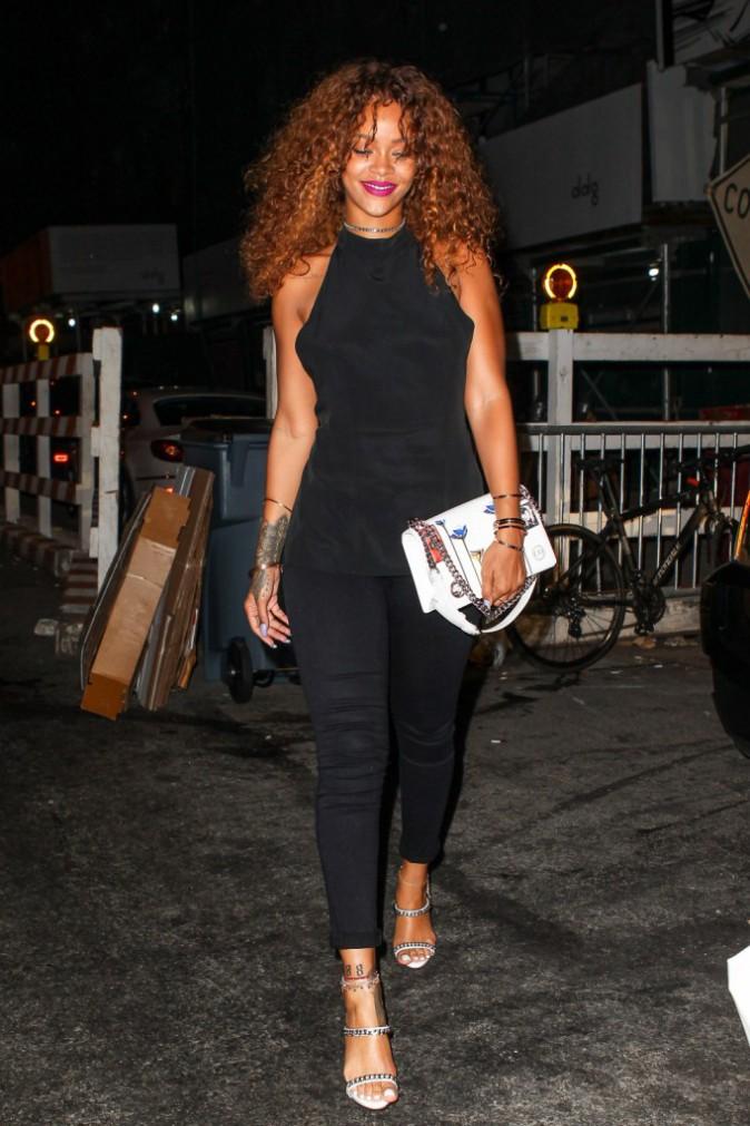 Photos : Rihanna débarque dans The Voice !
