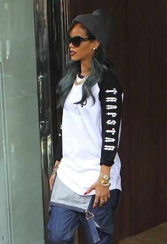 Rihanna à Londres le 20 juillet 2013