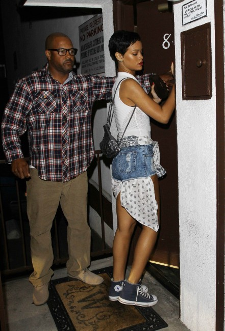 Rihanna le 19 octobre 2012 à Los Angeles
