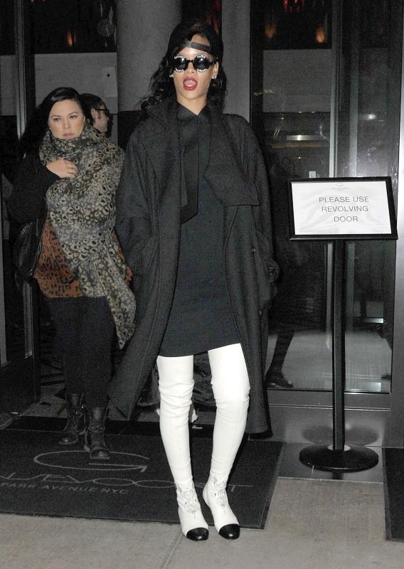 Rihanna le 10 novembre 2012 à New York