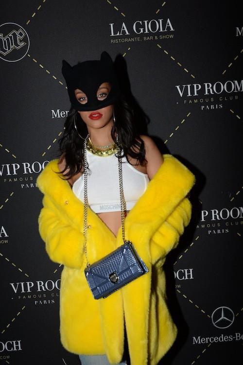 Photos : Rihanna : elle débarque à Paris, impossible de la rater !