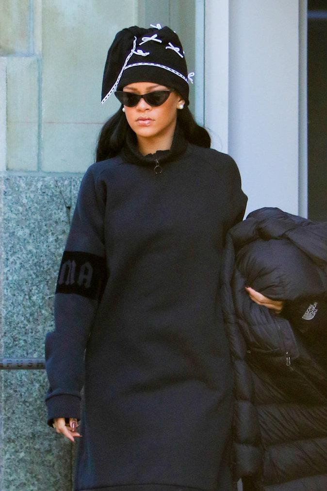 Rihanna : elle d�barque dans la ville de Drake !