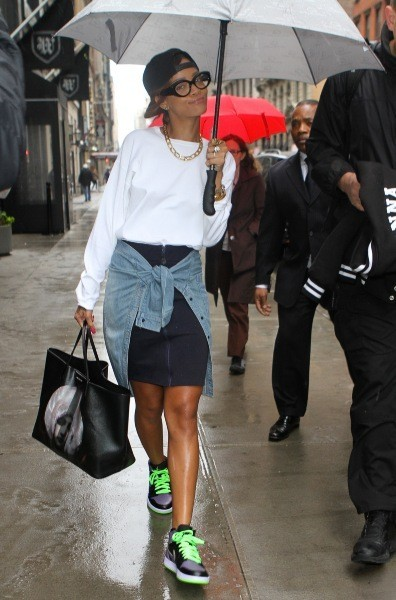 Rihanna et son Umbrella