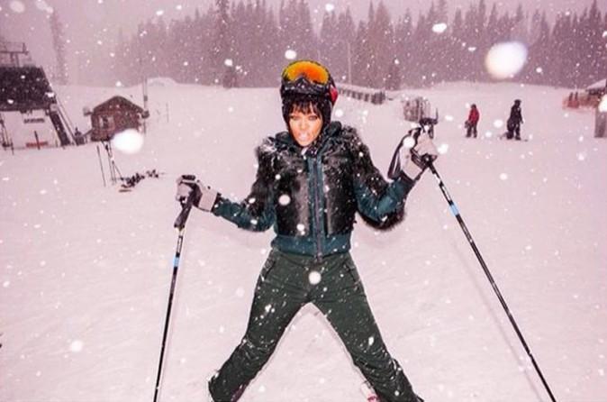 Rihanna à Aspen le 21 février 2014