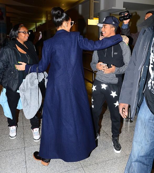 Rihanna à New-York le 2 décembre 2014