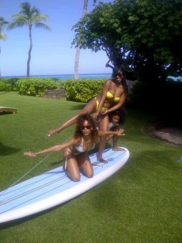 Rihanna en vacances à Hawaï !