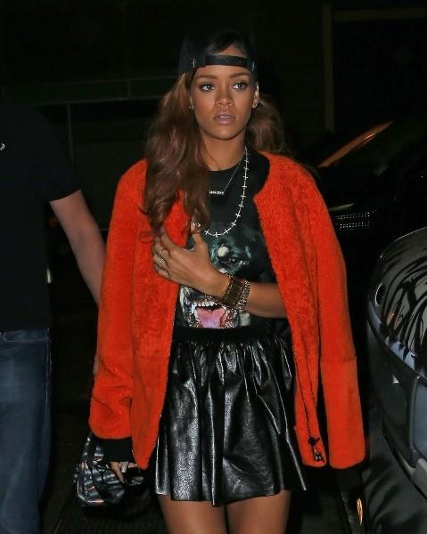 Rihanna à New York, le 23 avril 2013.