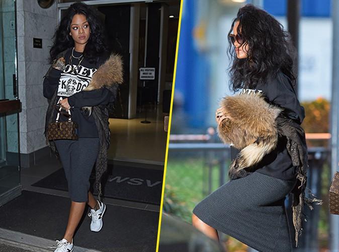 Rihanna : elle ne quitte plus sa grosse touffe de poils !