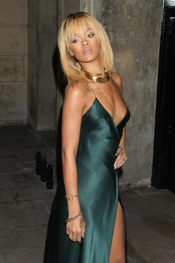 Rihanna à la soirée Stella McCartney hier soir à Londres
