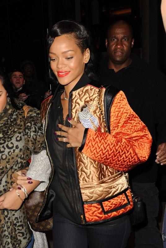 Rihanna le 9 novembre 2012 à New York