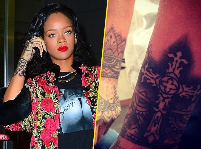 Rihanna : elle s'offre un nouveau tatouage avant d'aller rejoindre Shakira au Brésil !