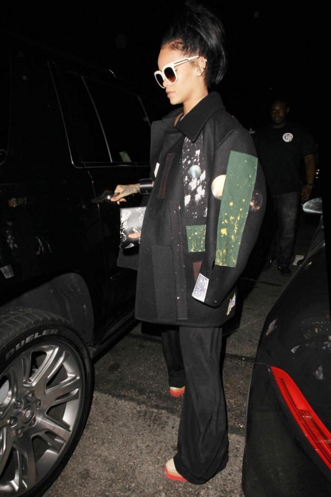 Rihanna à Los Angeles le 11 octobre 2014