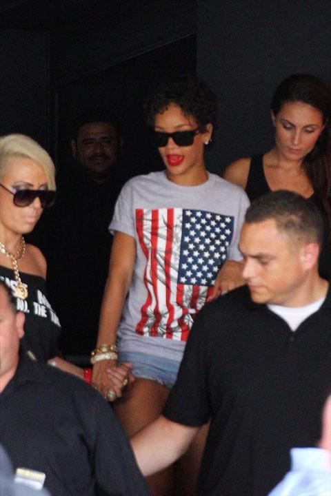 Rihanna à Miami le 12 août 2013