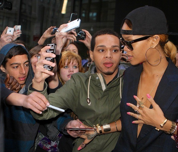 Rihanna le 5 mai 2013 à New York